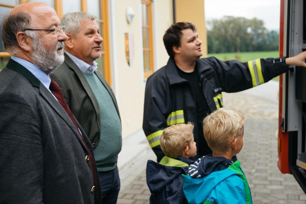 Taufe, Mondsee, St. Lorenz, Feier, Feuerwehr