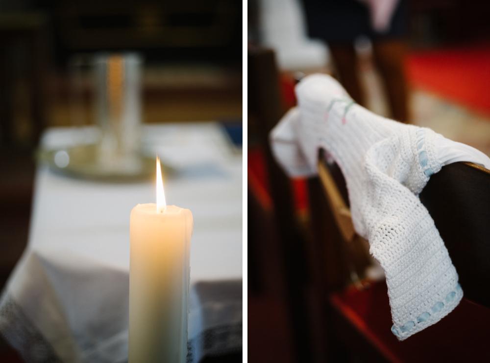 Taufe, Mondsee, Maria Hilf Kirche, Taufkleid