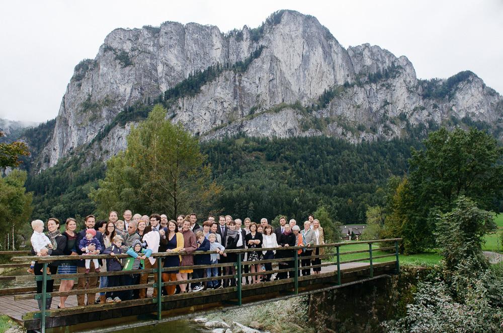 Taufe, Mondsee, St. Lorenz, Feier, Drachenwand, Gruppenfoto