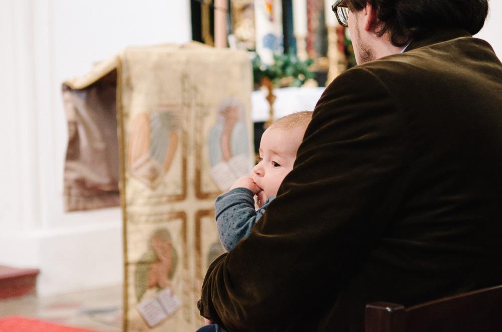 Taufe, Mondsee, Maria Hilf Kirche, Täufling
