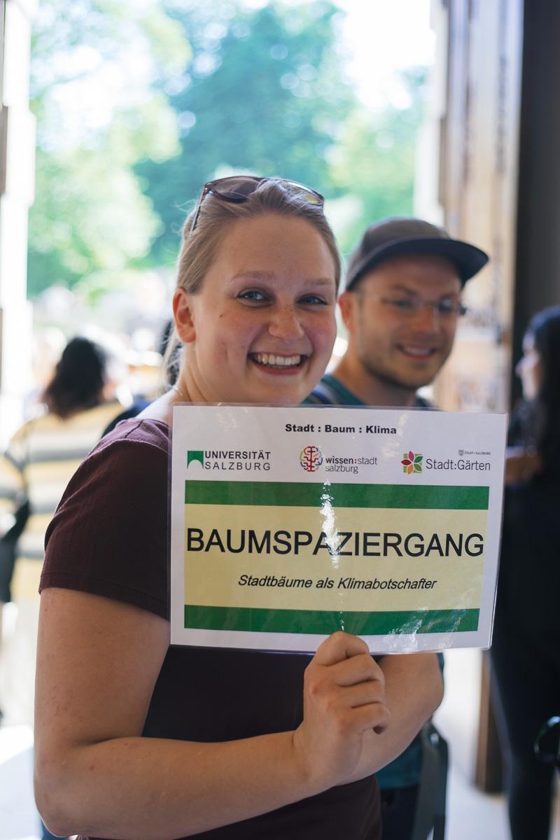 Baumspaziergang Universität / Stadt Salzburg