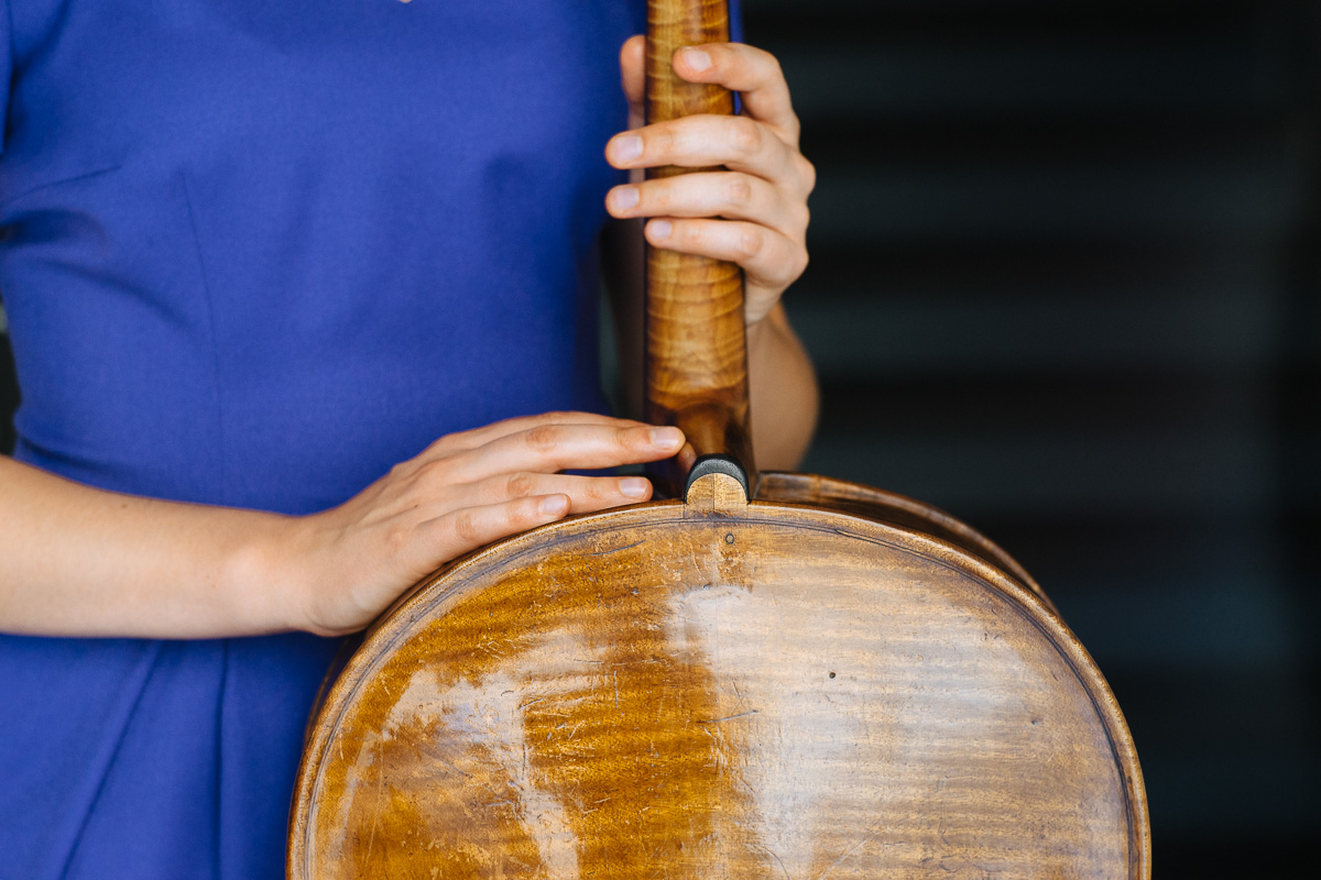 Cellistin Hannah Vinzens